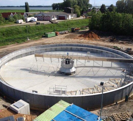 Rioolwaterzuiveringsinstallatie Numansdorp - Nederland 17