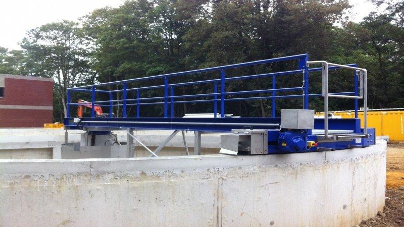 Water treatment plant at Walcourt - Belgium 4