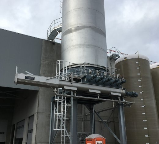 Silo for potato chips - Agristo at Wielsbeke - Belgium 19