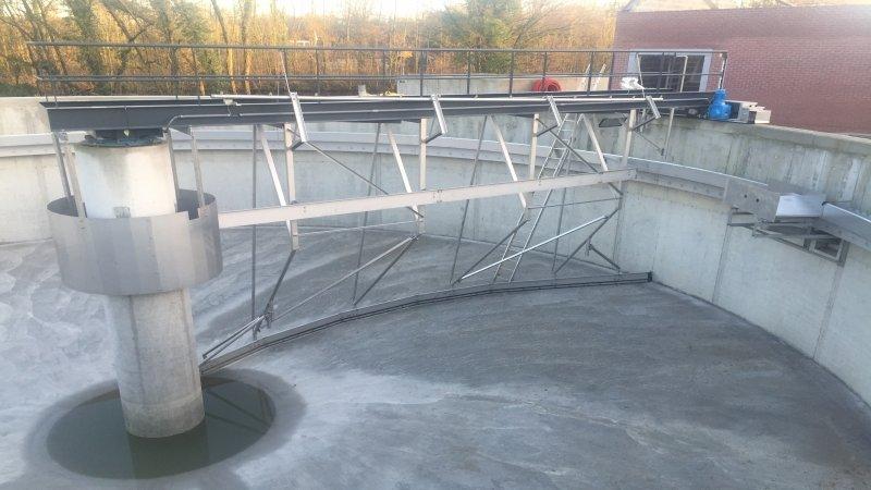 Waterzuiveringsstation te Feluy - België 1