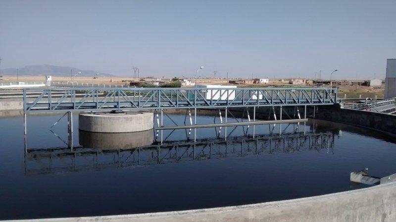 Waterzuiveringsstation Ain Beida - Algerije 13