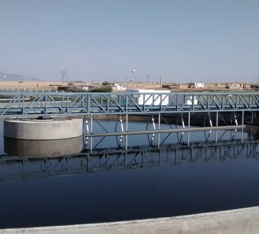 Waste-water treatment plant Ain Beida - Algeria 13