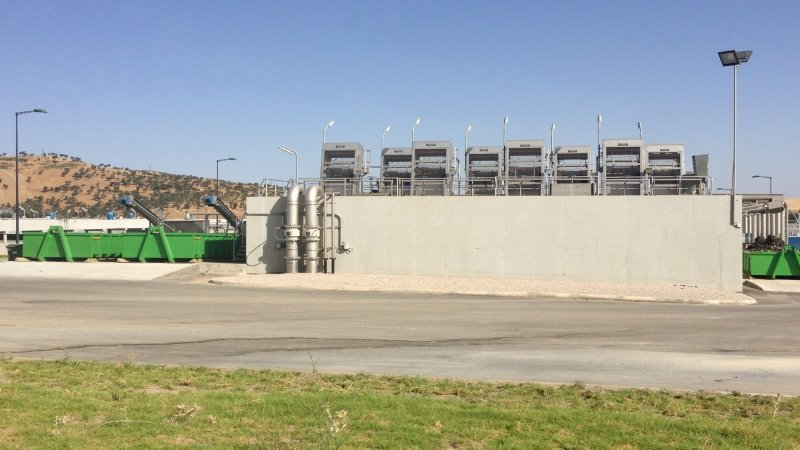 Waterzuiveringsstation te Fes - Marokko 12
