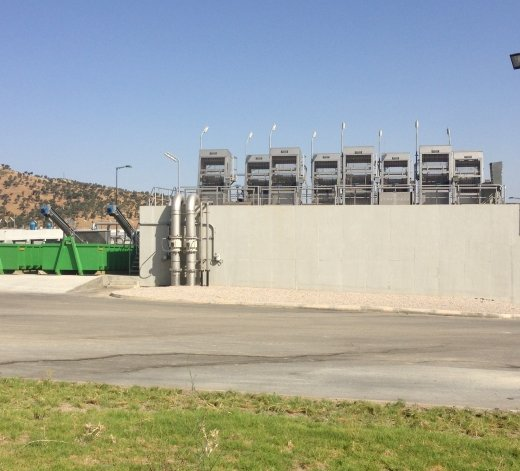 Water treatment plant at Fes - Morocco 12