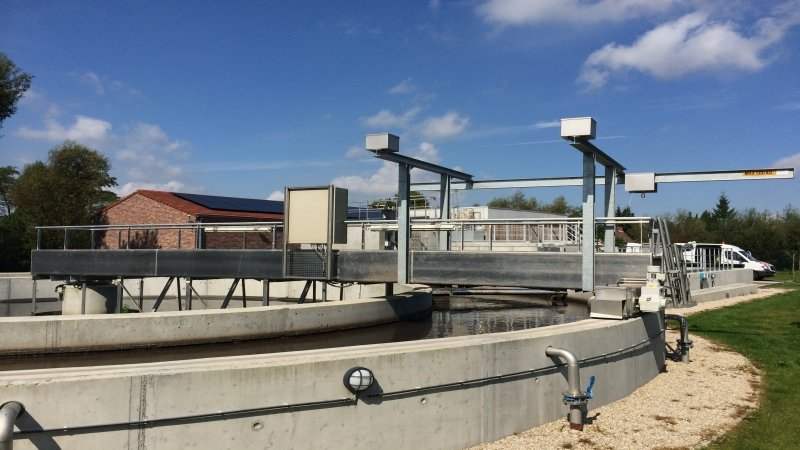 Waterzuiveringsstation te Wiers - België 3