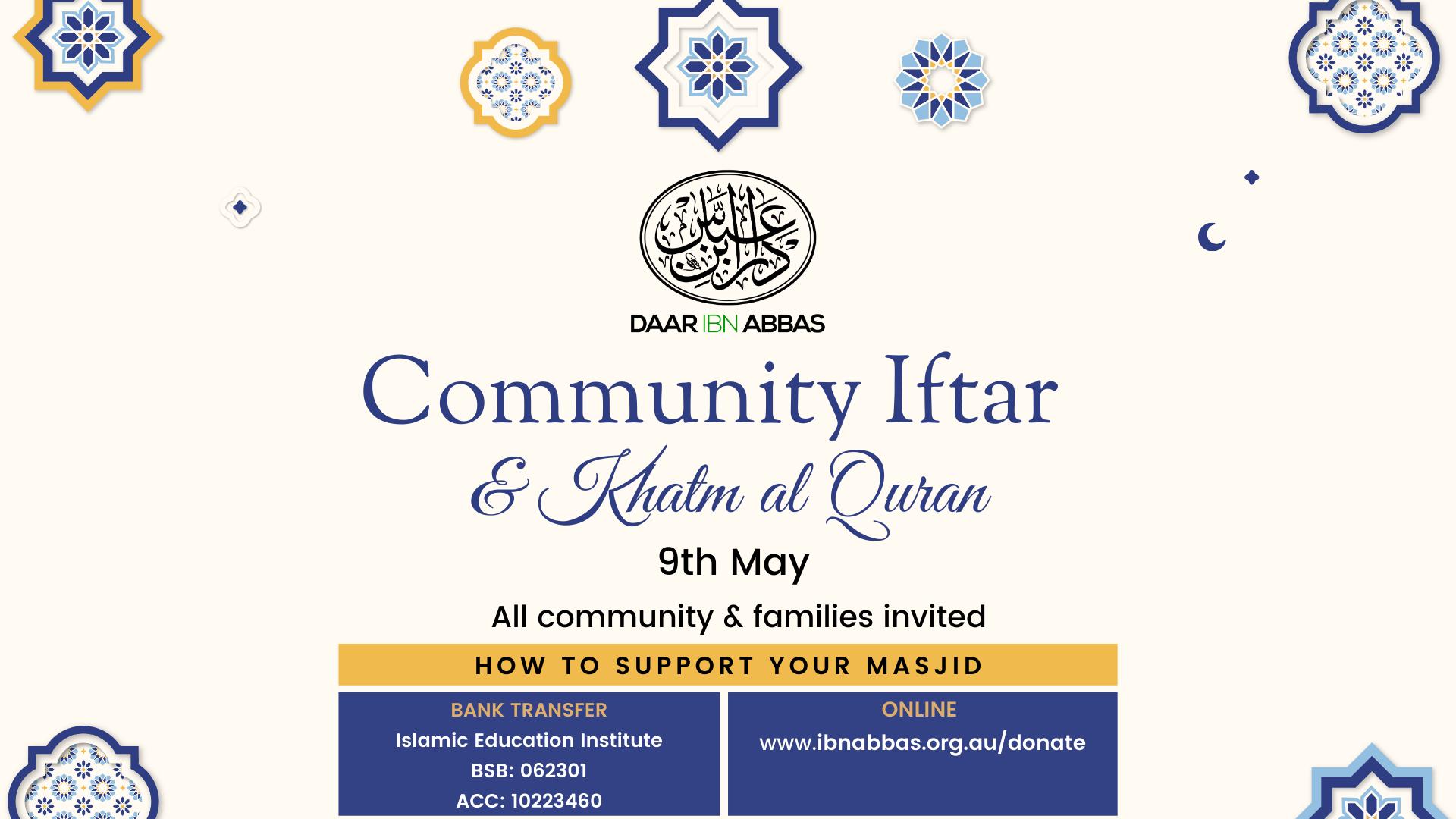 Community Iftar