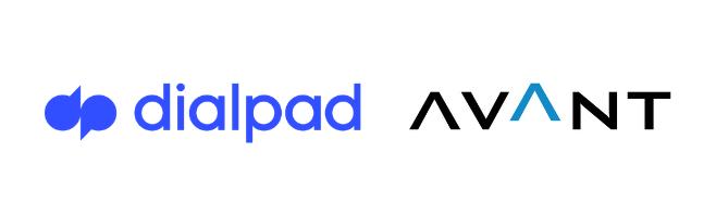 Dialpad + AVANT logo