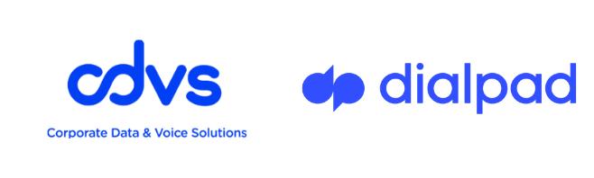 CDVS + Dialpad Logo