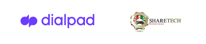 Dialpad-Sharetech-logos