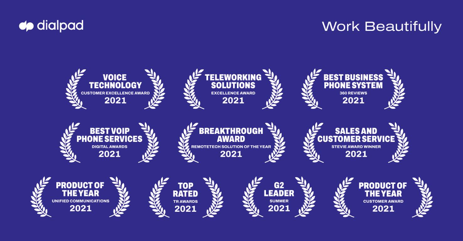 Dialpad awards