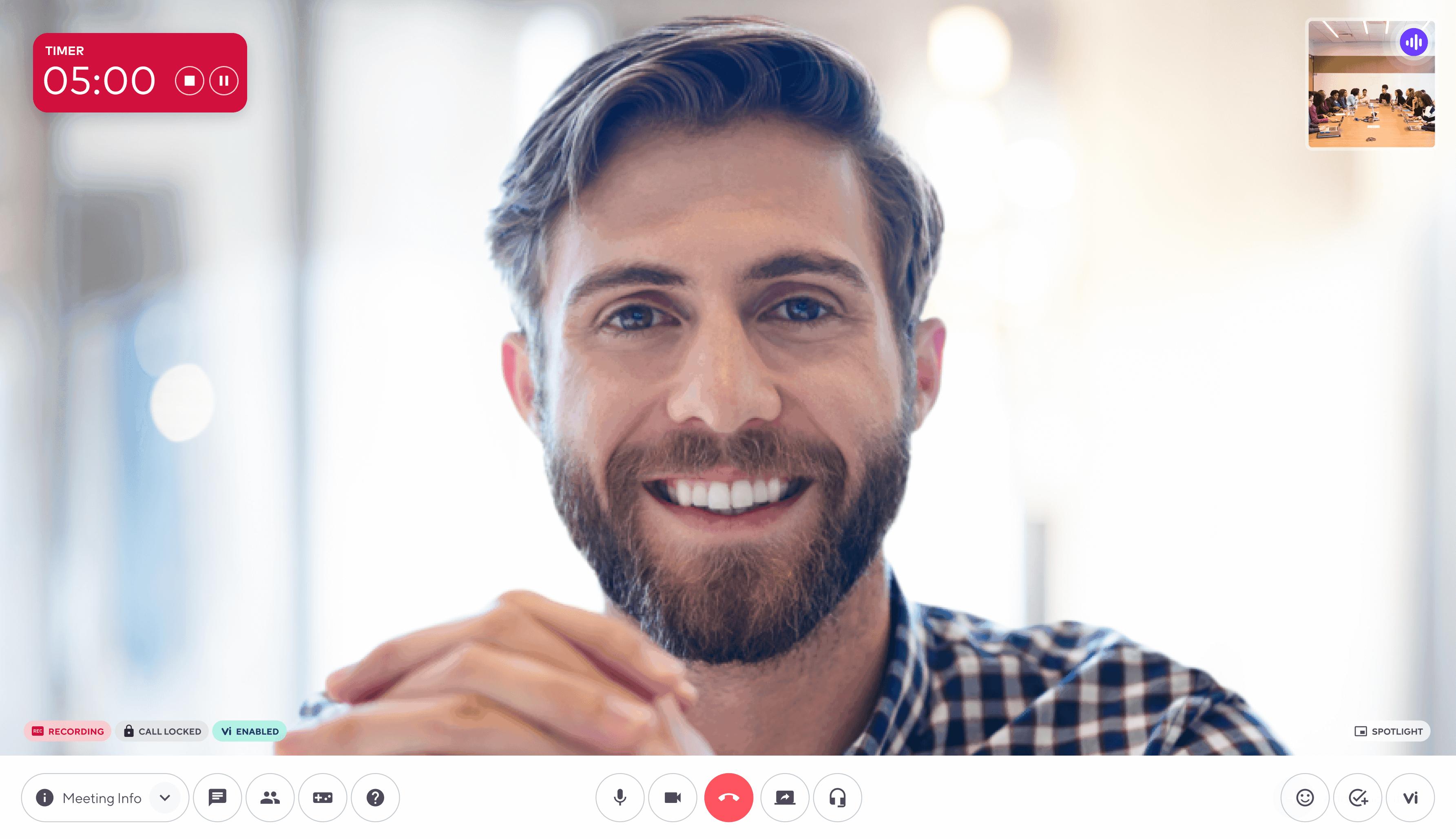 virtual meetings in dialpad's app