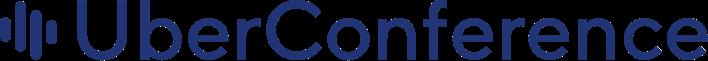 Uberconference Blue Logo Bold