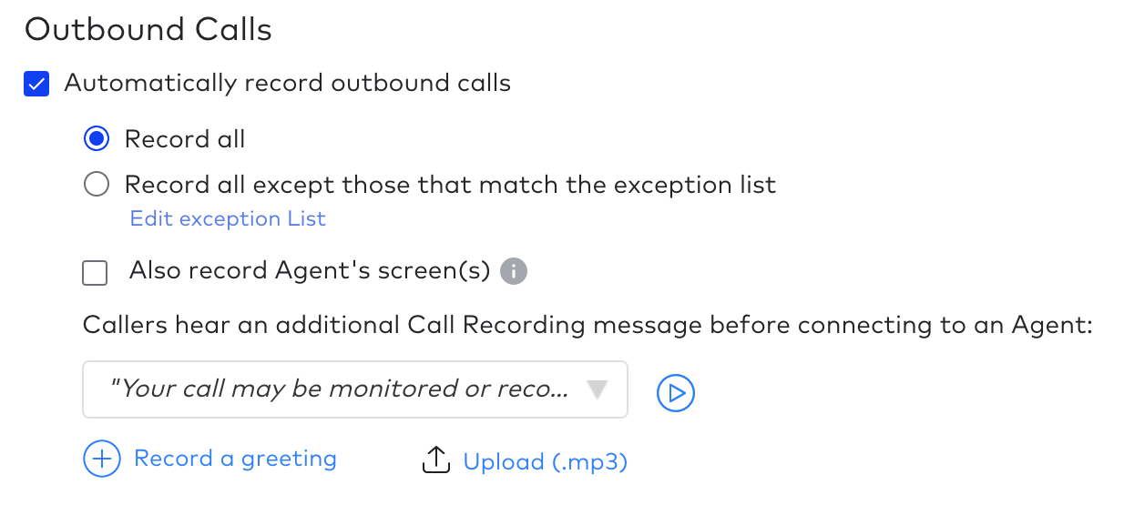 Outbound Calls