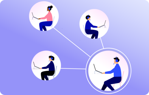Smarter user management illustration