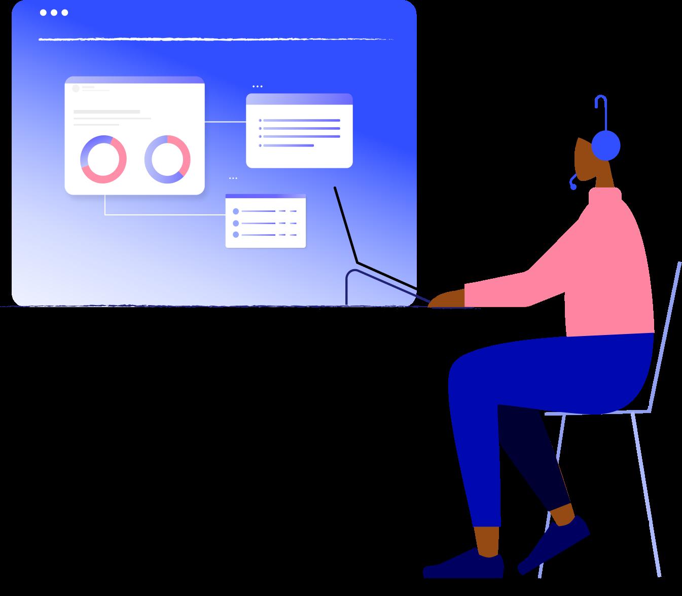 Illustration principale API et webhooks