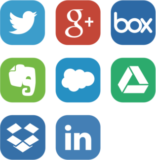 Social Media Icons @2X