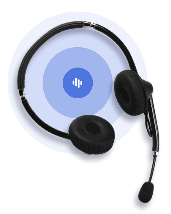 Top View Headset Circles