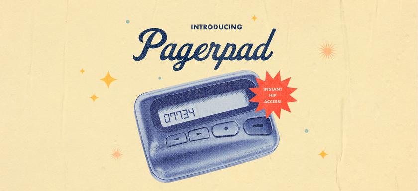 Pagerpad hero desktop