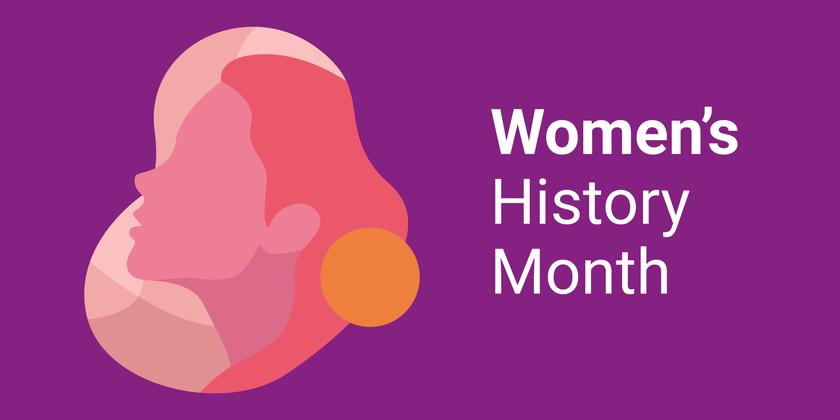 Womens history month spotlight bridget 2021 header image