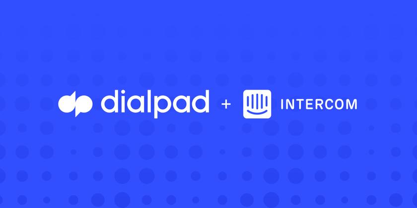 Dialpad Intercom header