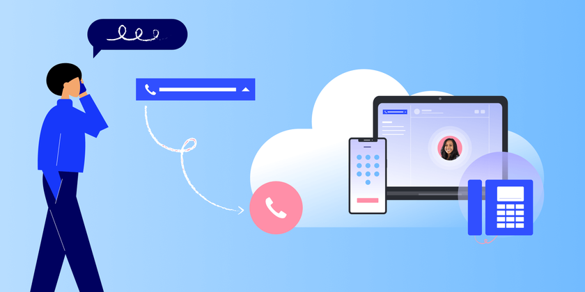 How to forward a voicemail header