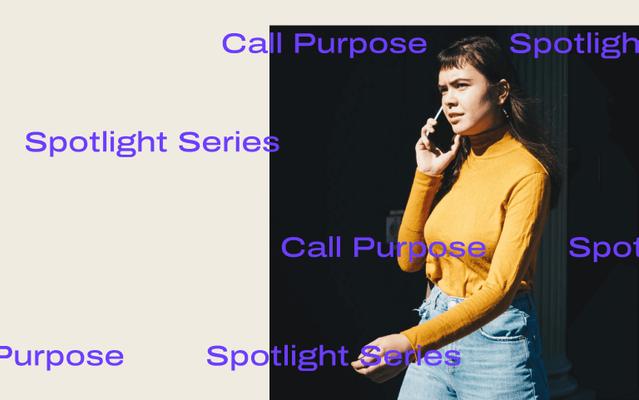 Call purpose feature