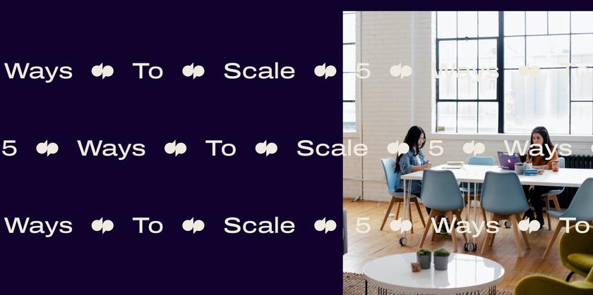 5 ways to scale Header