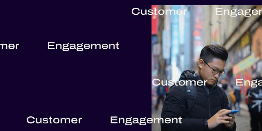 Customer engagement software Header