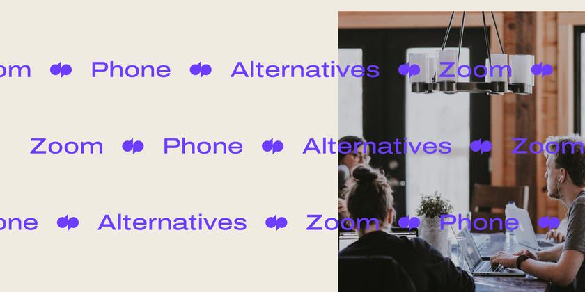 Zoom phone alternatives Header