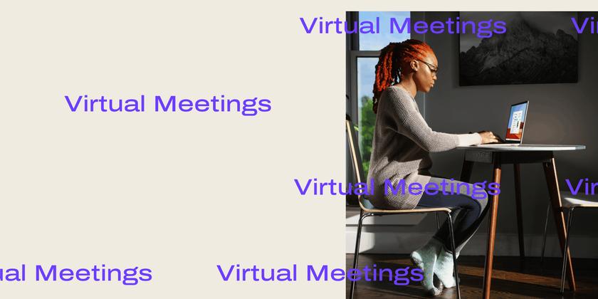 Virtual meetings Header