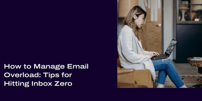 Email overload header