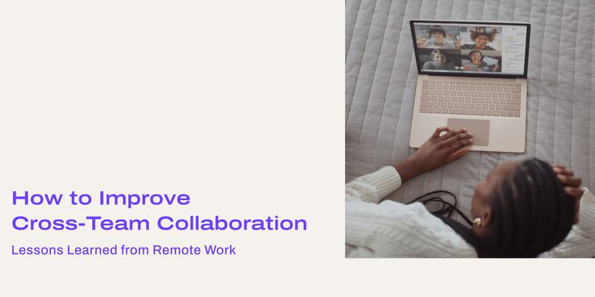 Cross team collaboration header
