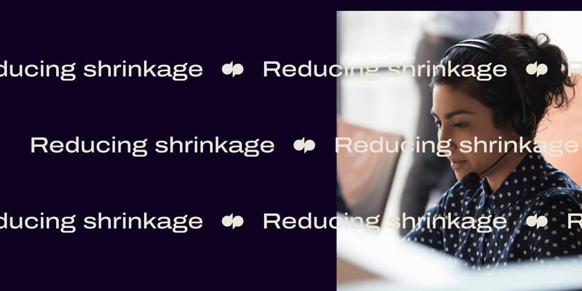 6 Reducing shrinkage header