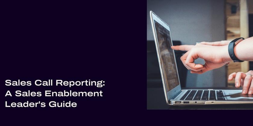 7 Sales call reporting header
