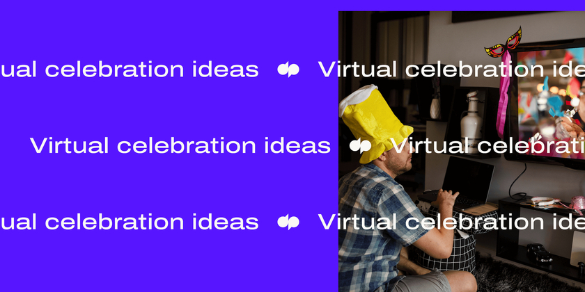 10 Virtual celebration ideas header