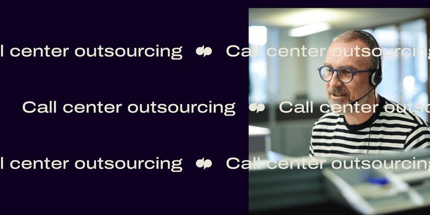 13 Call center outsourcing header