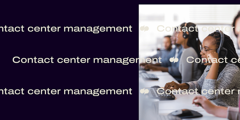 15 Contact center management header