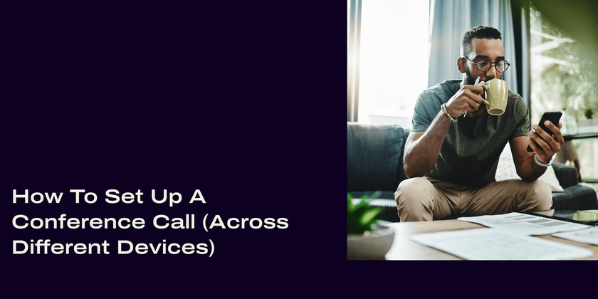 16 How to set up a conference call header