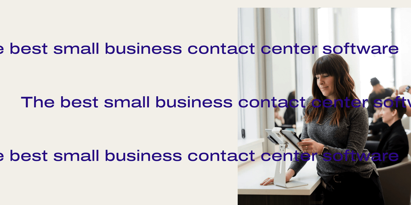 18 The best small business contact center software header
