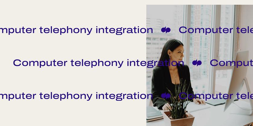 20 Computer telephony integration header