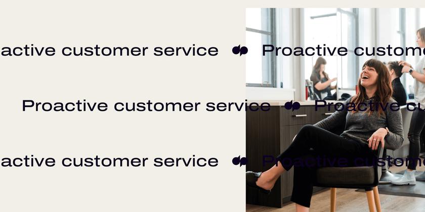 23 Proactive customer service header