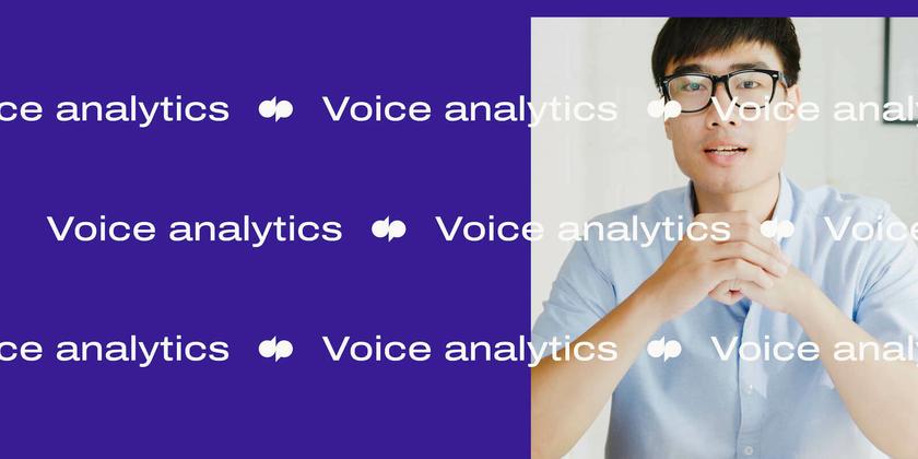 1 Voice analytics header