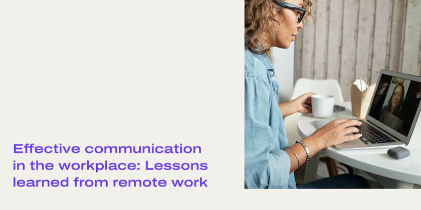 Communication in the workplace header