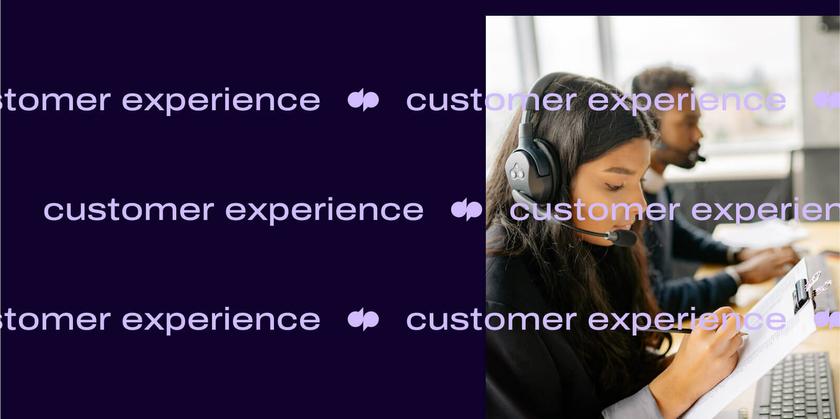 Customer experience analytics header