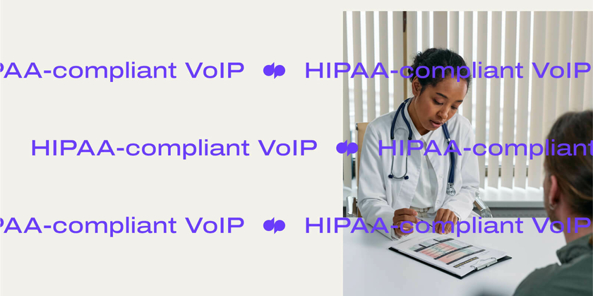 Hipaa compliant voip header
