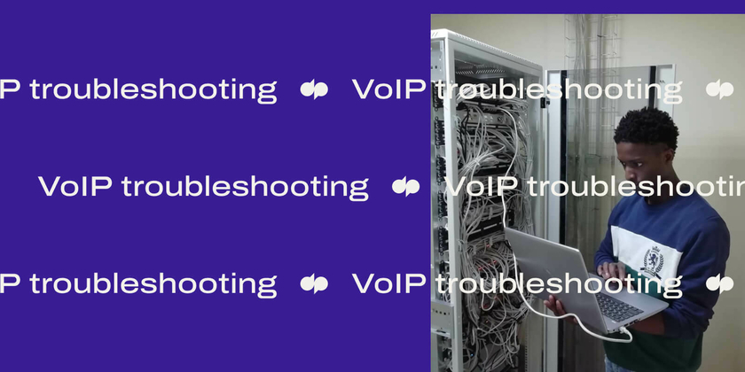 Voip troubleshooting header