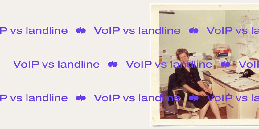 Voip vs landline header