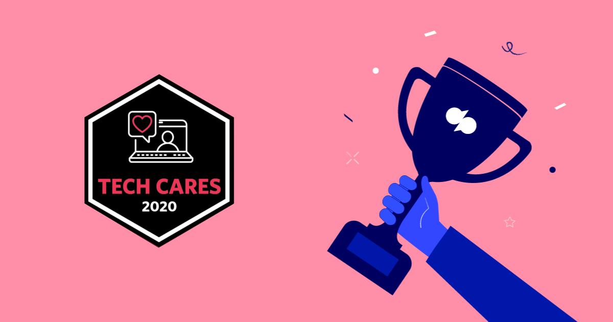 TrustRadius Tech Cares Award
