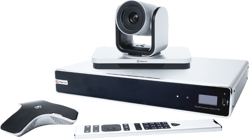 Poly (formerly Polycom) RealPresence Group 700 video conferencing equipment
