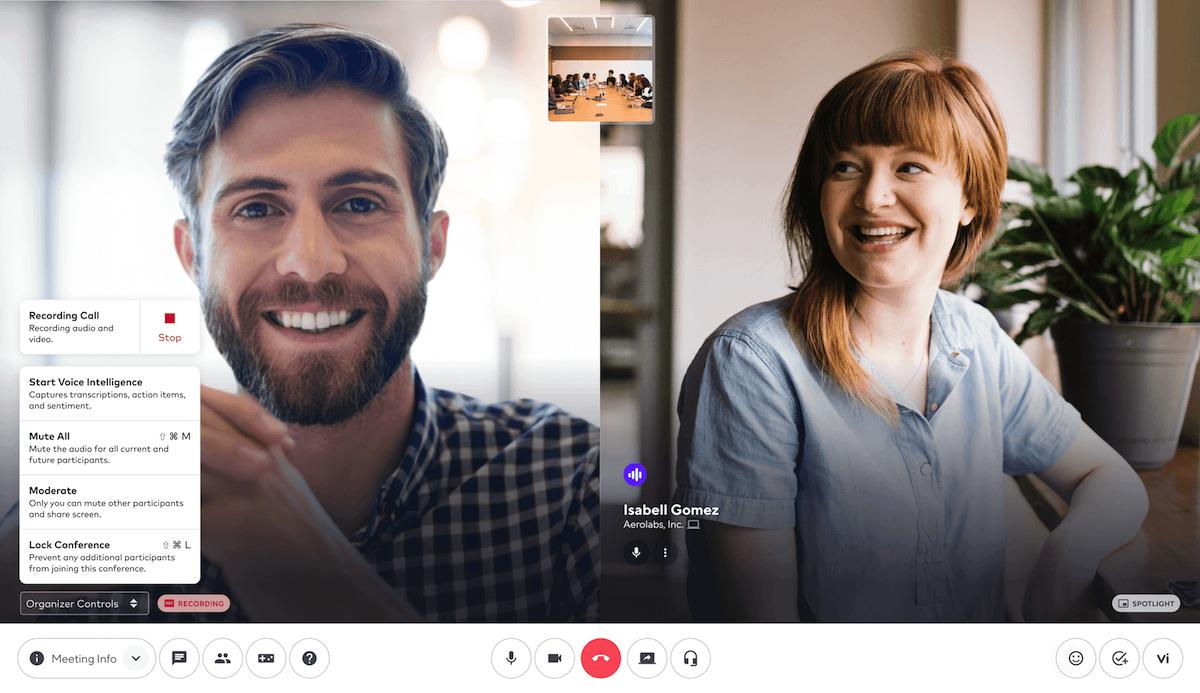 recording a meeting in dialpad app